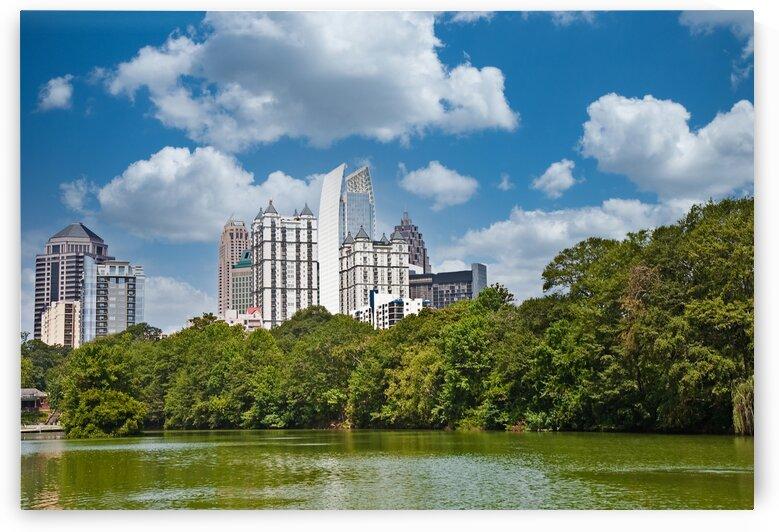 Atlanta From Piedmont Park by Darryl Brooks