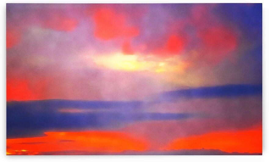 Orange Clouds by Pierce Anderson