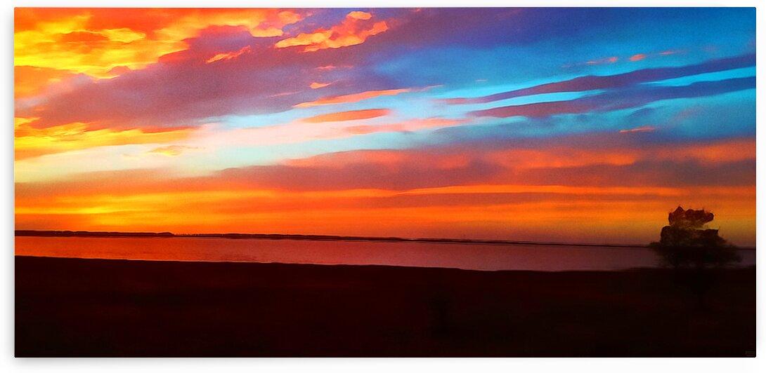Lake Sky by Pierce Anderson