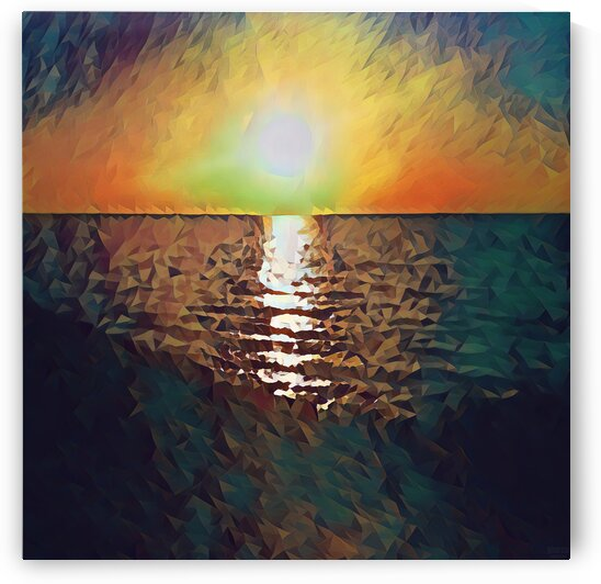 sunset art by Pierce Anderson