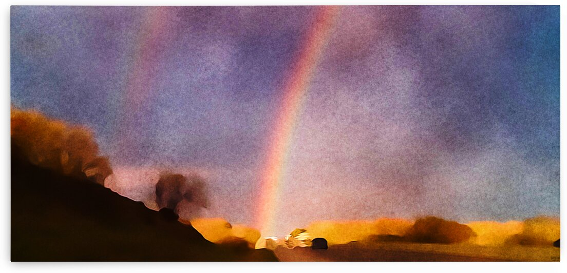double rainbow by Pierce Anderson