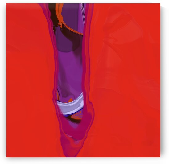 Violet Shape by Sarah Butcher