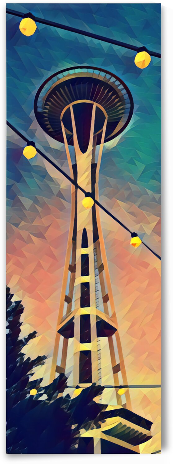seattle space needle by Pierce Anderson