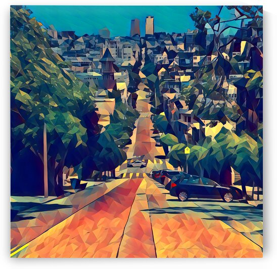 san francisco steep by Pierce Anderson