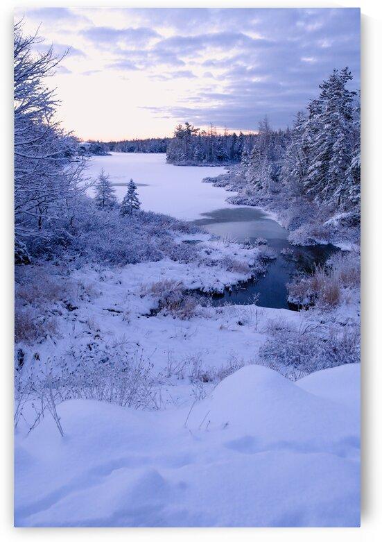 Half-Mile Lake by Anka G