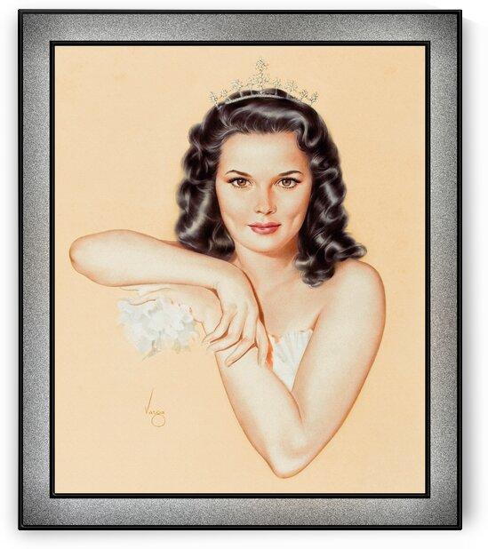 Tiara by Alberto Vargas Pin-Up Girl Vintage Art by xzendor7