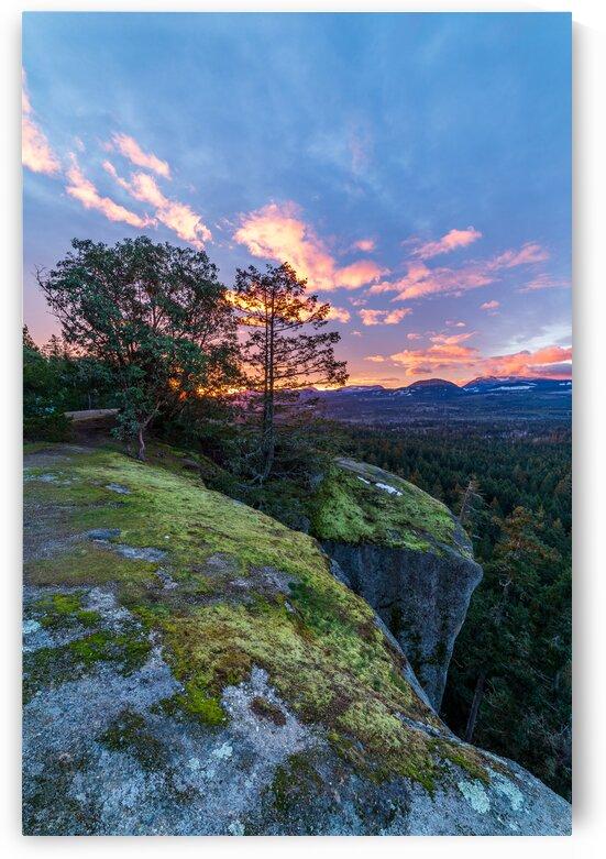 Little Mountain Sunrise by Michael Squier