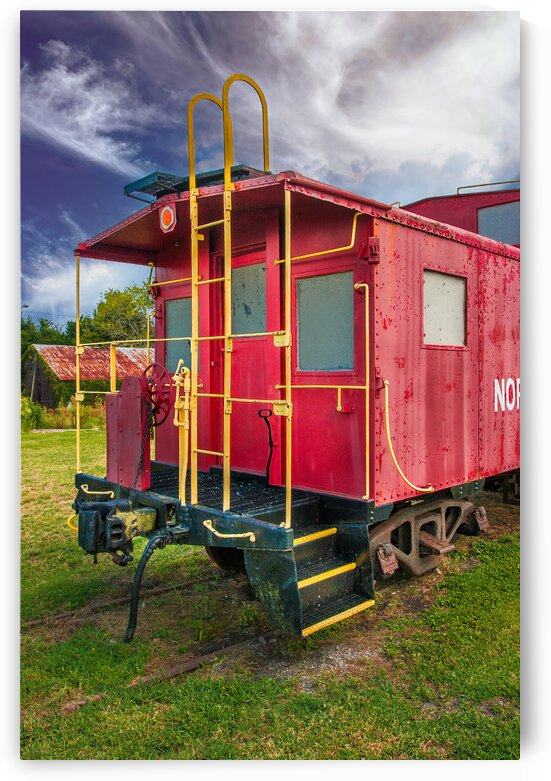 Caboose by Eric Franks Photography