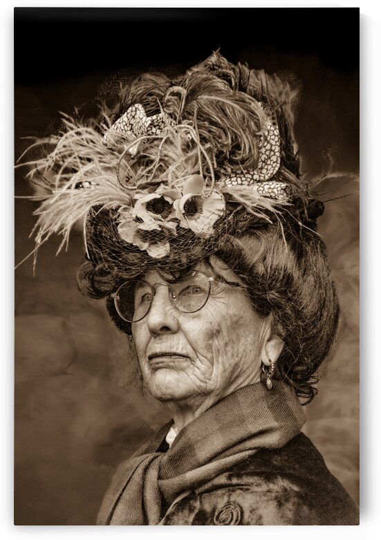 Victorian Lady 4 by Eric Franks Photography