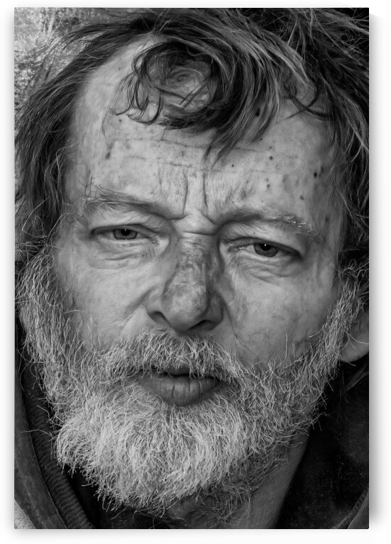 The face of Homelessnes. by Eric Franks Photography