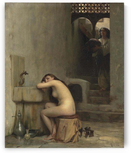 Repos au bain by Theodore Ralli