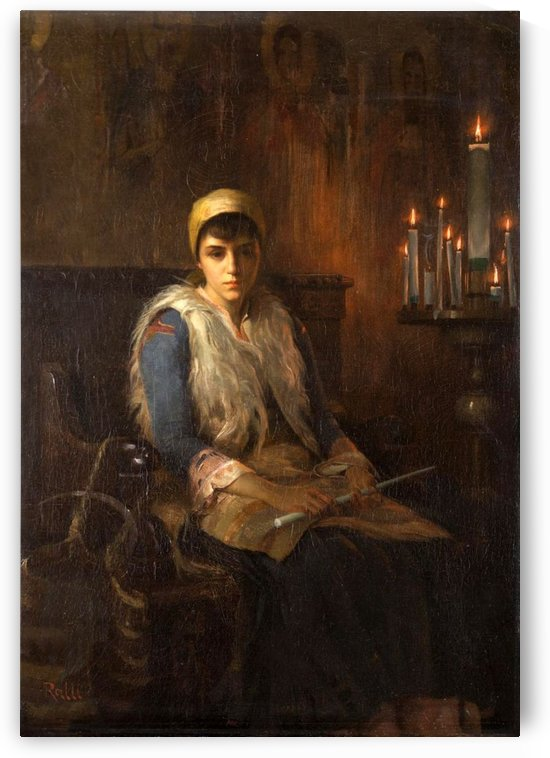 Candles Theodoro by Theodore Ralli