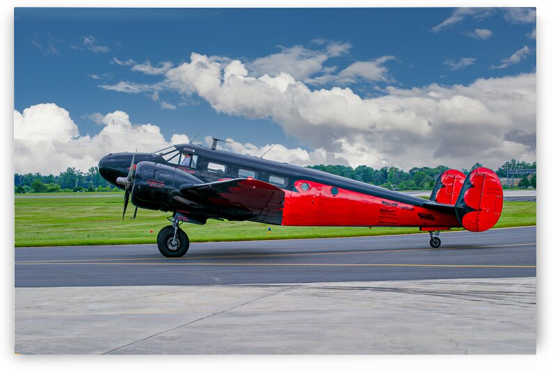 Beech B18 by Eric Franks Photography