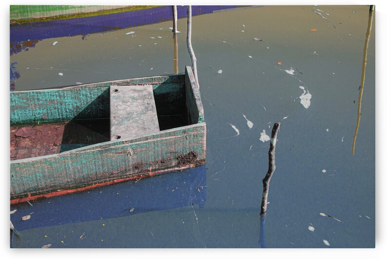 Boat - CXLV by Carlos Wood