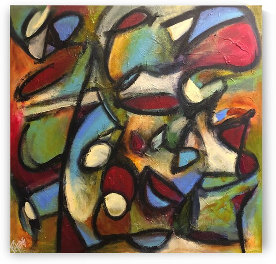 Colorful Chaos by Susan Peters