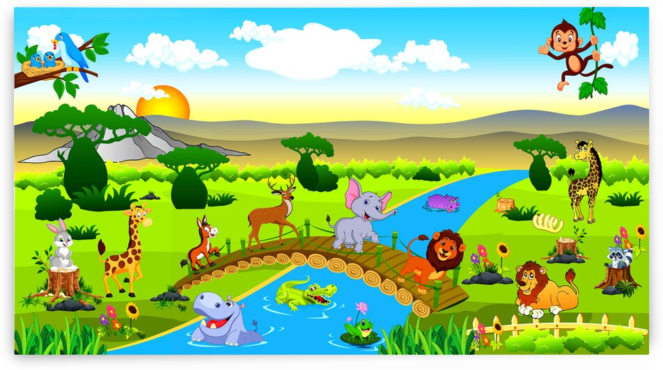 Wildlife Animals 1_OSG by One Simple Gallery