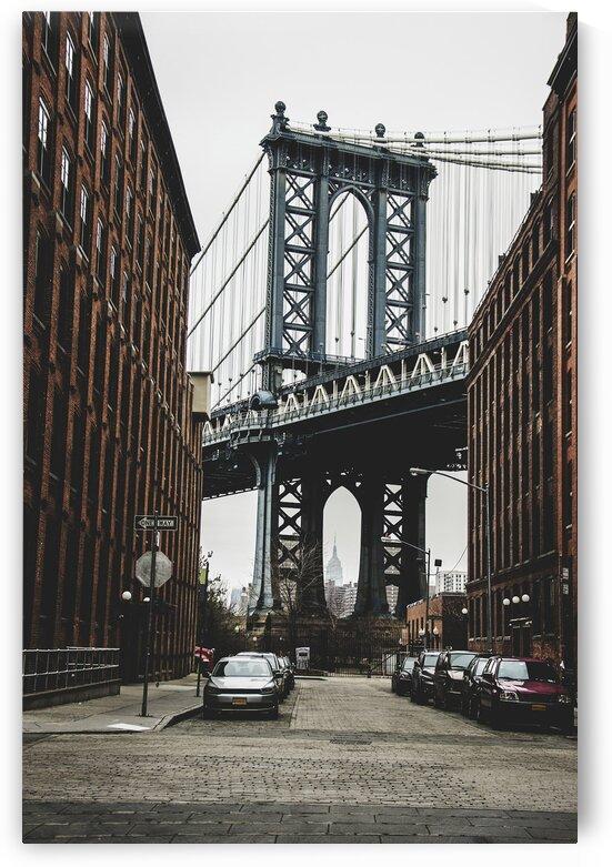The Brooklyn Bridge  New York  United States by 7ob