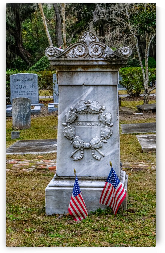 Old Tomb in Southern Cemetery by Darryl Brooks