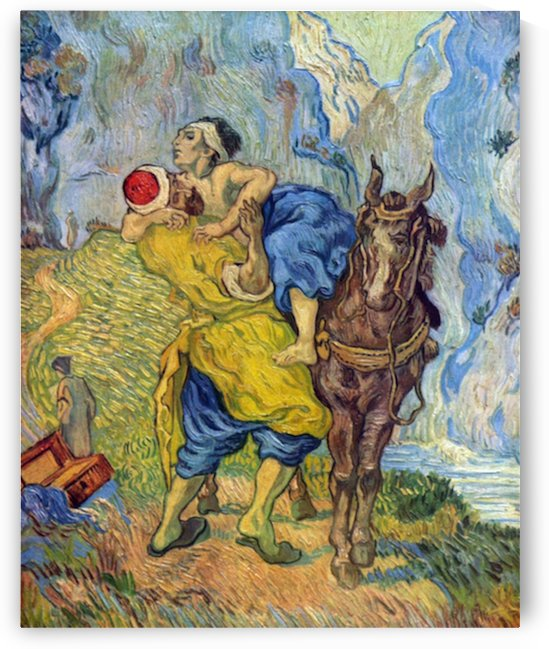 The Good Samaritan by Van Gogh by Van Gogh