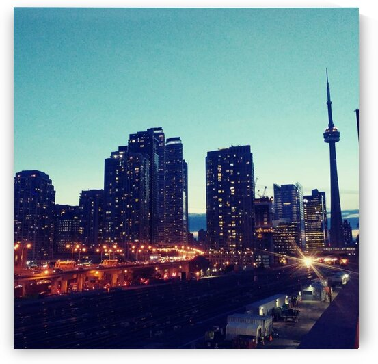 Toronto Lights  by Spilling Emotions