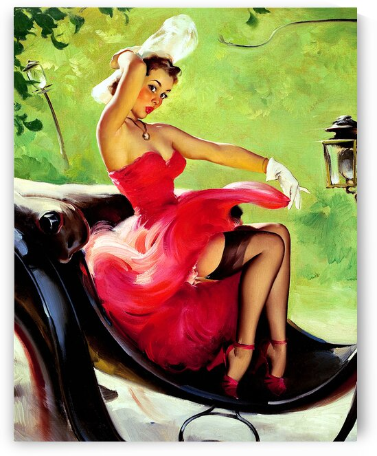 Lady In Red_OSG by One Simple Gallery