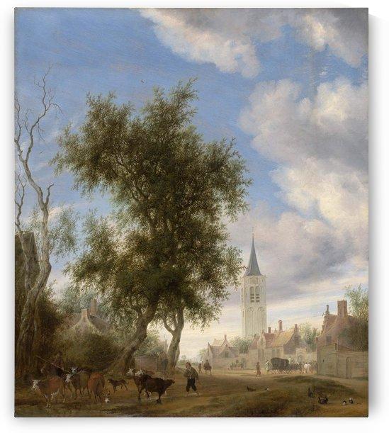View of Beverwijk, 1646 by Salomon van Ruysdael