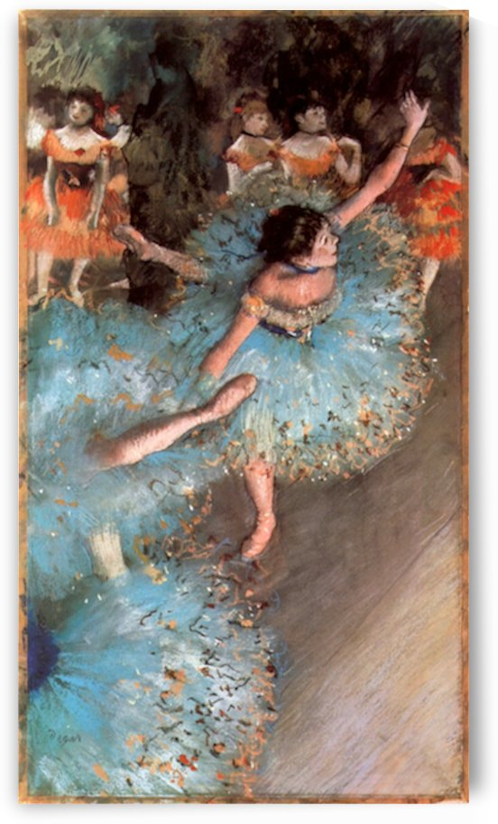 The Greens dancers by Degas by Degas
