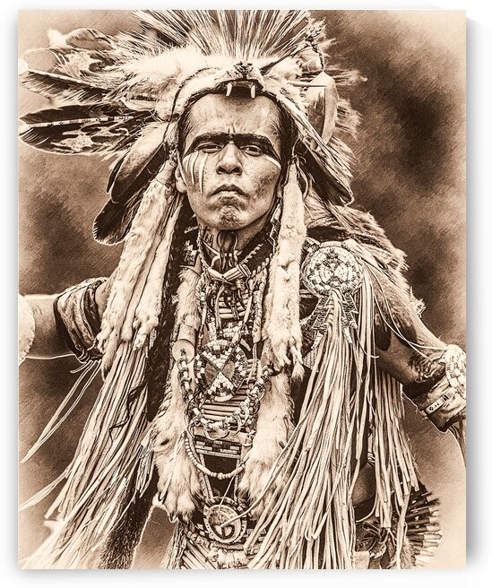 Native American 11 by Eric Franks Photography