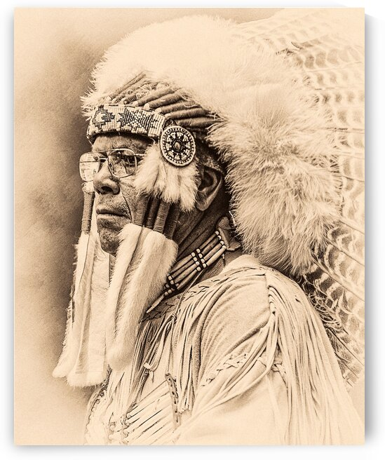 Native American 3 by Eric Franks Photography