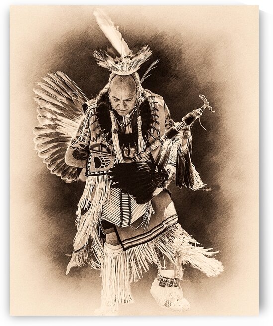 Native American 14 by Eric Franks Photography