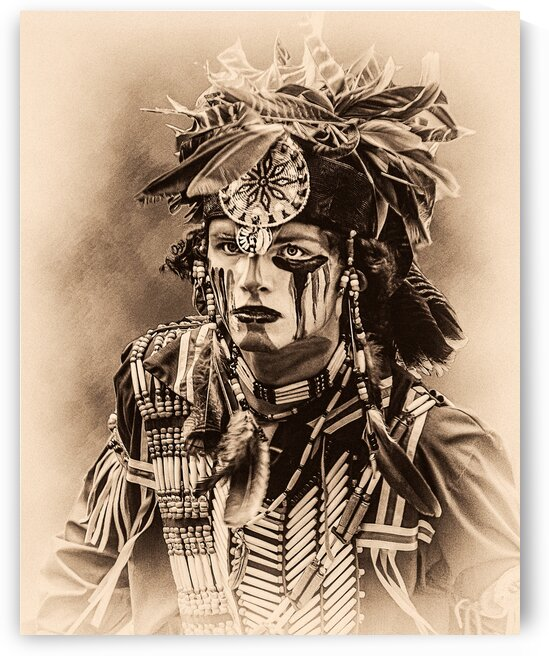 Native American 4 by Eric Franks Photography