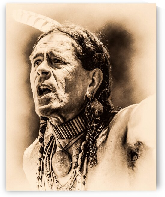 Native American 15 by Eric Franks Photography