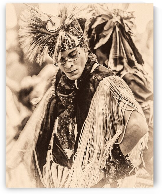 Native American 1 by Eric Franks Photography