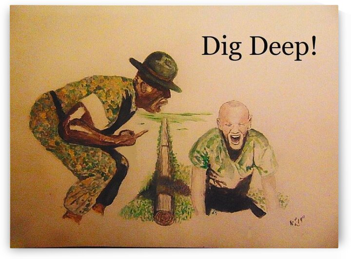 Dig Deep by Ralph Cannell by Ralph Cannell - Art by Cannell