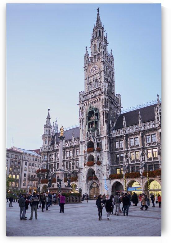 New town hall Neues Rathaus Marienplatz Munich Germany by Atelier Knox