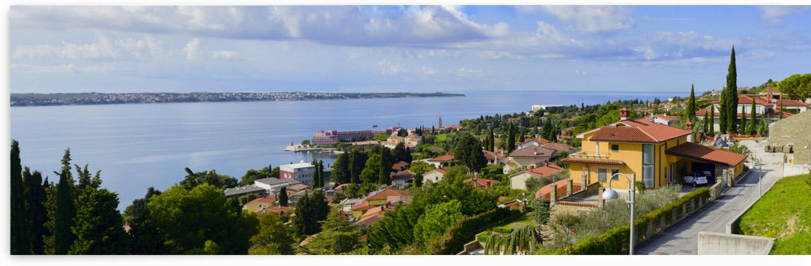 Small resort town on the slovenian adriatic coast Piran Slovenia by Atelier Knox