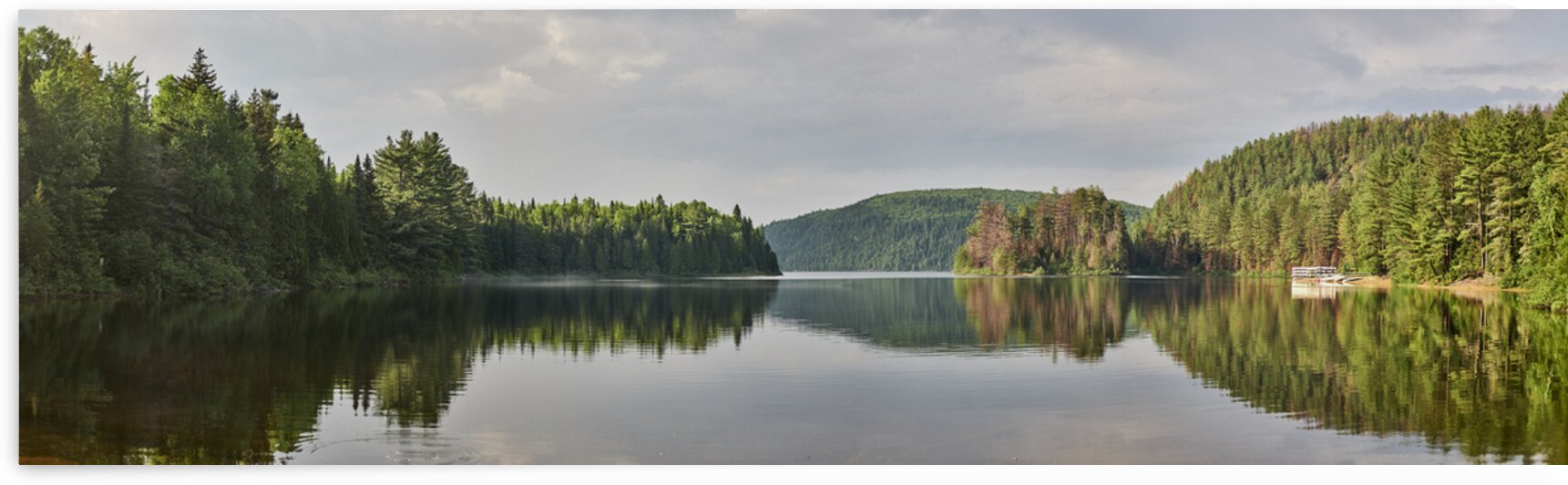 Lake in rural Quebec Canada by Atelier Knox