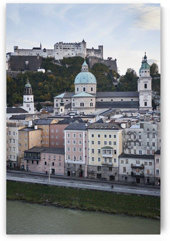 Austrian cityscape during autumn season Salzburg Austria by Atelier Knox