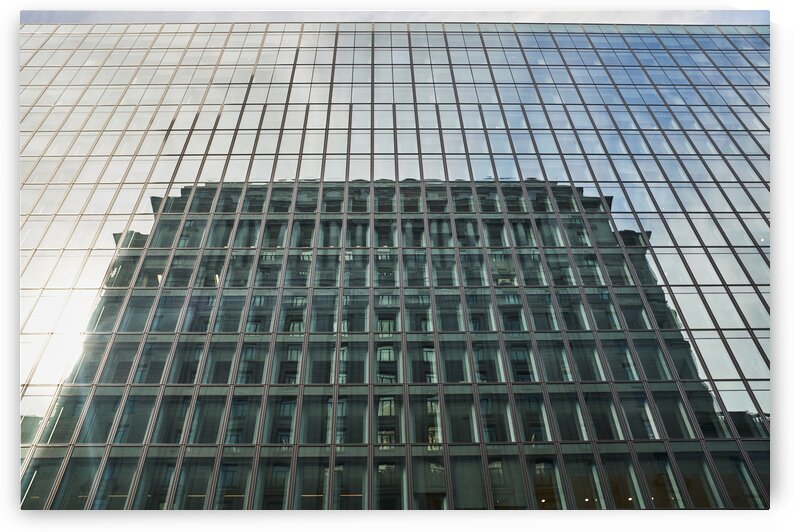 Building reflection downtown Montreal Quebec Canada by Atelier Knox