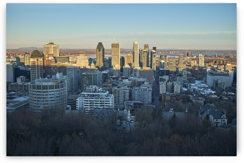 Canadian city during early spring Montreal Quebec Canada by Atelier Knox