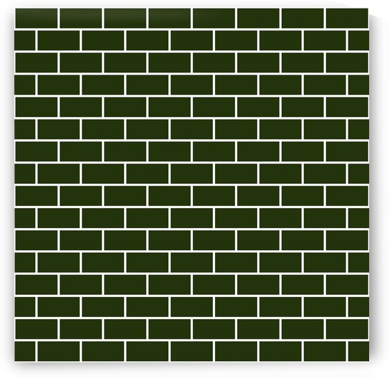 Military Green Brick Pattern by rizu_designs