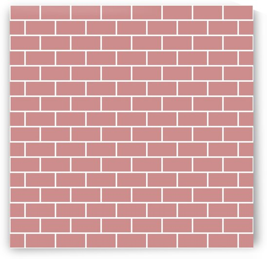 Pink Bricks Pattern by rizu_designs
