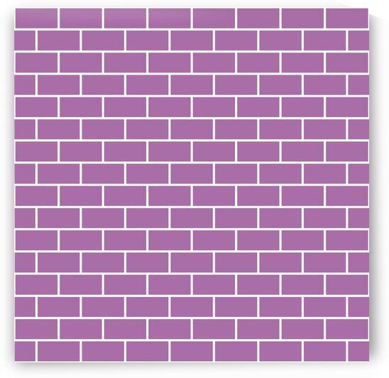 Baby Pink Brick Pattern by rizu_designs