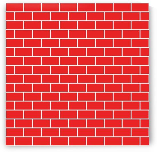 Red Brick Pattern by rizu_designs