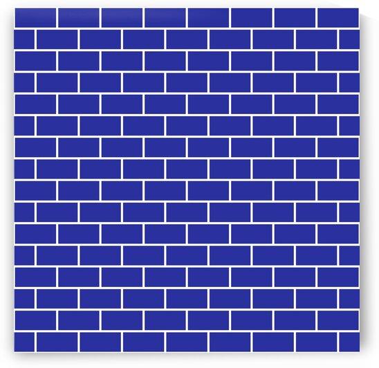 Purple Brick Pattern by rizu_designs
