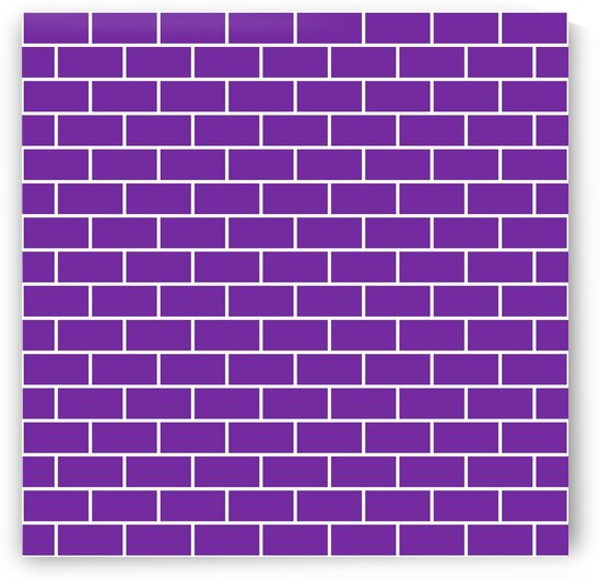 Dark Purple Brick Pattern by rizu_designs
