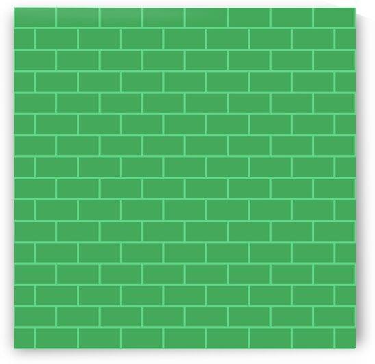 Green Bricks Pattern by rizu_designs