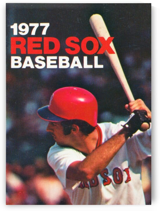 1977 Boston Red Sox Poster by Row One Brand