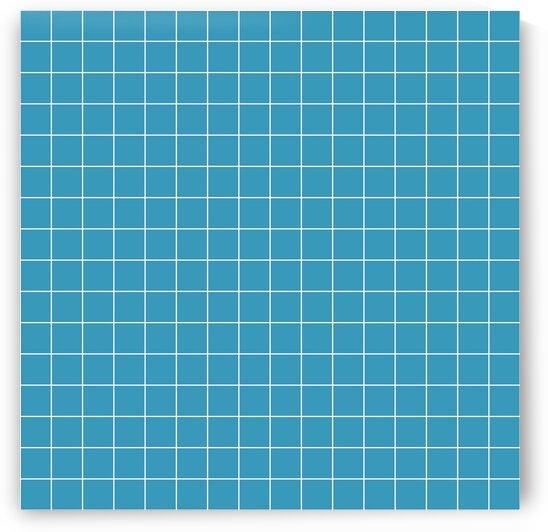 Blue Checker Pattern by rizu_designs
