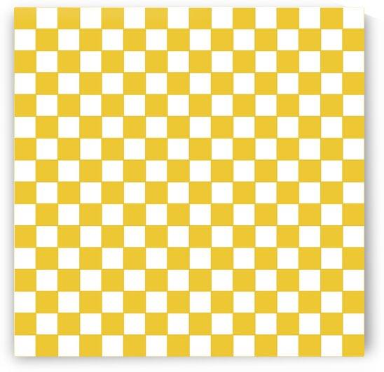 Yellow Check Pattern by rizu_designs